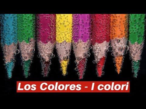 Lingua spagnola - I colori