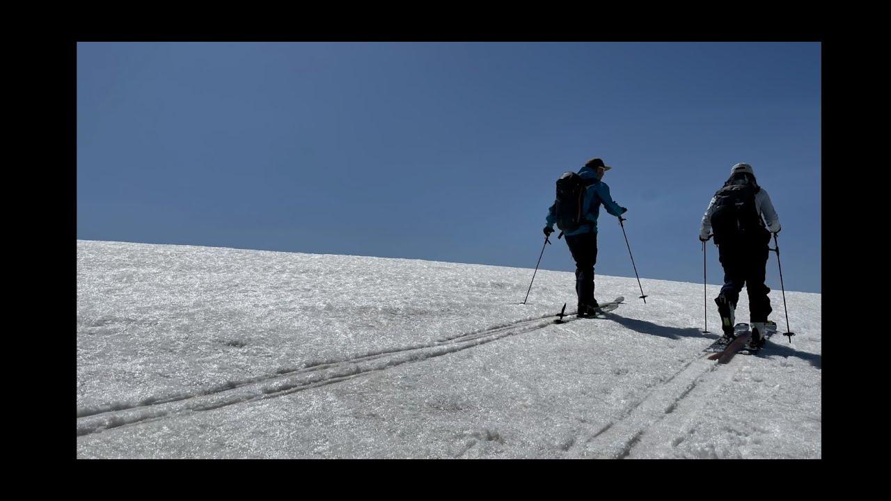 魚沼のスキー名山 浅草岳BC
