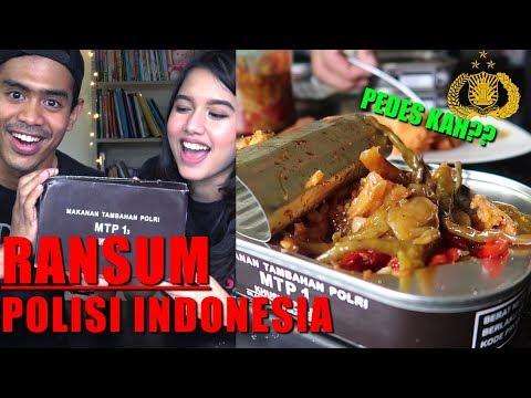 SUMPAH!!! Ransum POLISI INDONESIA (MRE) ternyata enak banget ft SHELY CHE