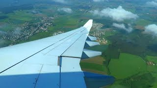Lufthansa Airbus A330-300 WING VIEW Landing at Munich Airport, Germany!