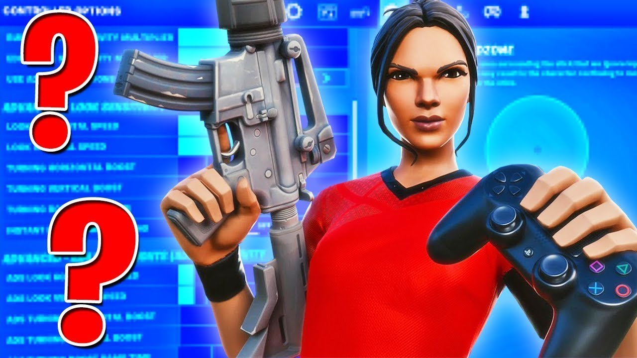 BEST CONTROLLER SETTINGS in FORTNITE - CONTROLLER SENSITIVITY AND BINDS  (Season 6 Chapter 2)