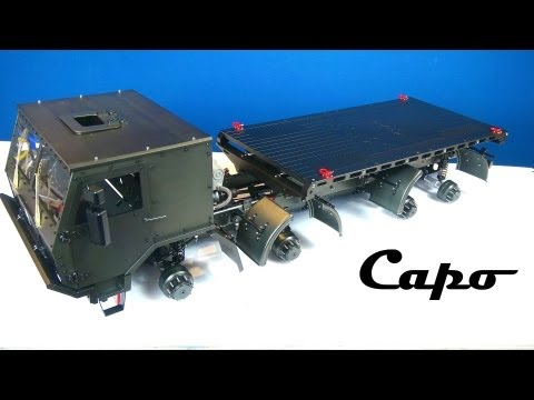 RC ADVENTURES - Capo CD15821 8X8 is coming together! All METAL Extreme Off Road Military Truck - BV5