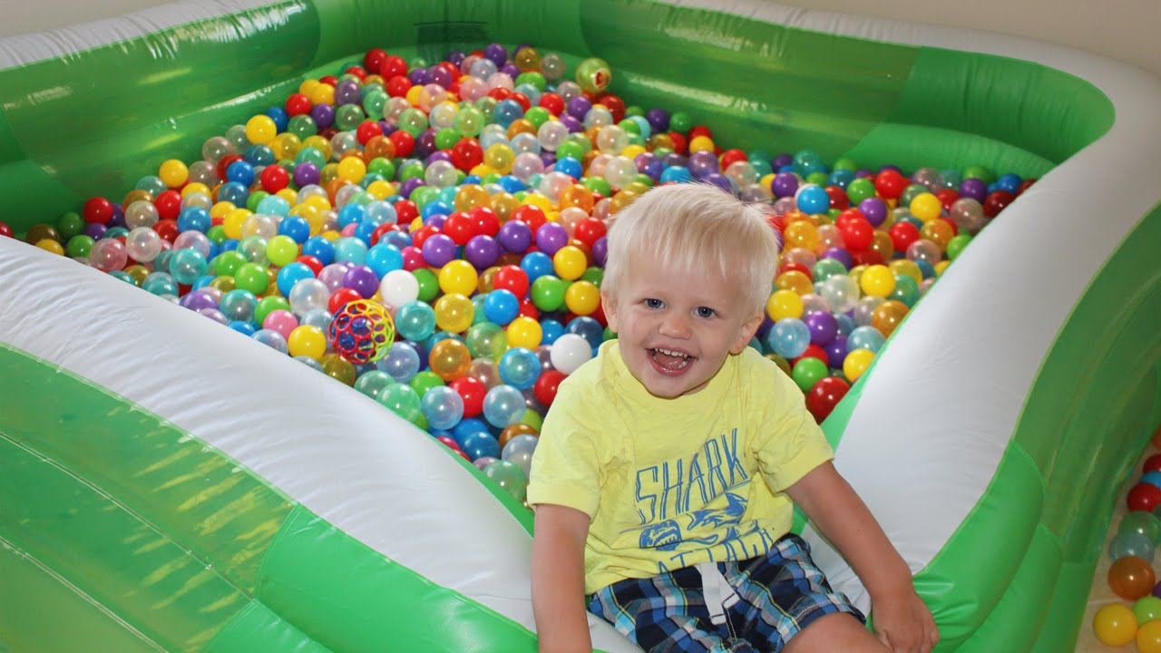 swimming pool ball pit youtube