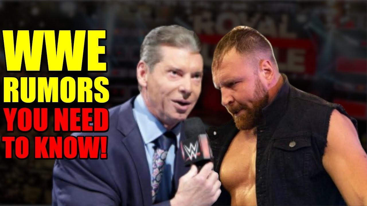10 Huge SHOCKING WWE 2019 Rumors You NEED To Know About   The Rock Returns, Jon Moxley Royal Rumble!