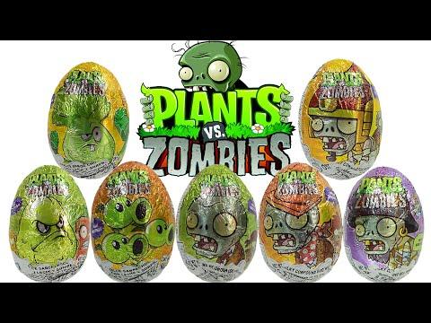 Huevos Sorpresa de Plantas vs Zombies | JuguetesYSorpresas