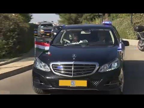 شاهد: أوربان يزور الحائط الغربي في القدس وناشطون يقطعون الطريق على موكبه…  - نشر قبل 3 ساعة