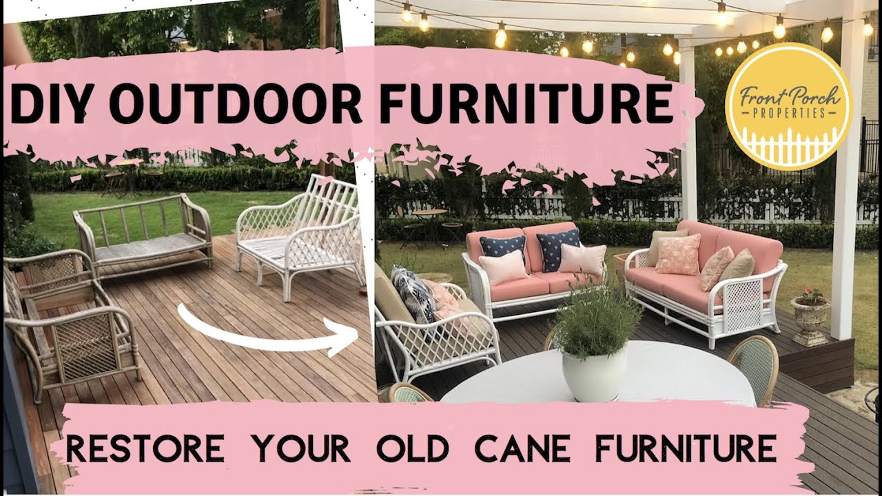Diy Outdoor Furniture Idea How To