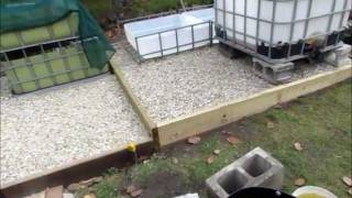 Backyard Aquaponic System Update 12th September... Ibc System Construction Part 3.