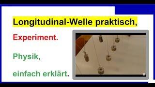 All video Longitudinalwelle