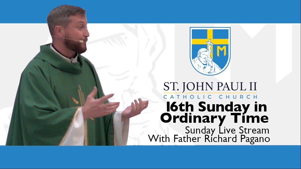 Download SJP2-18th Sunday in Ordinary Time with Father Richard Pagano