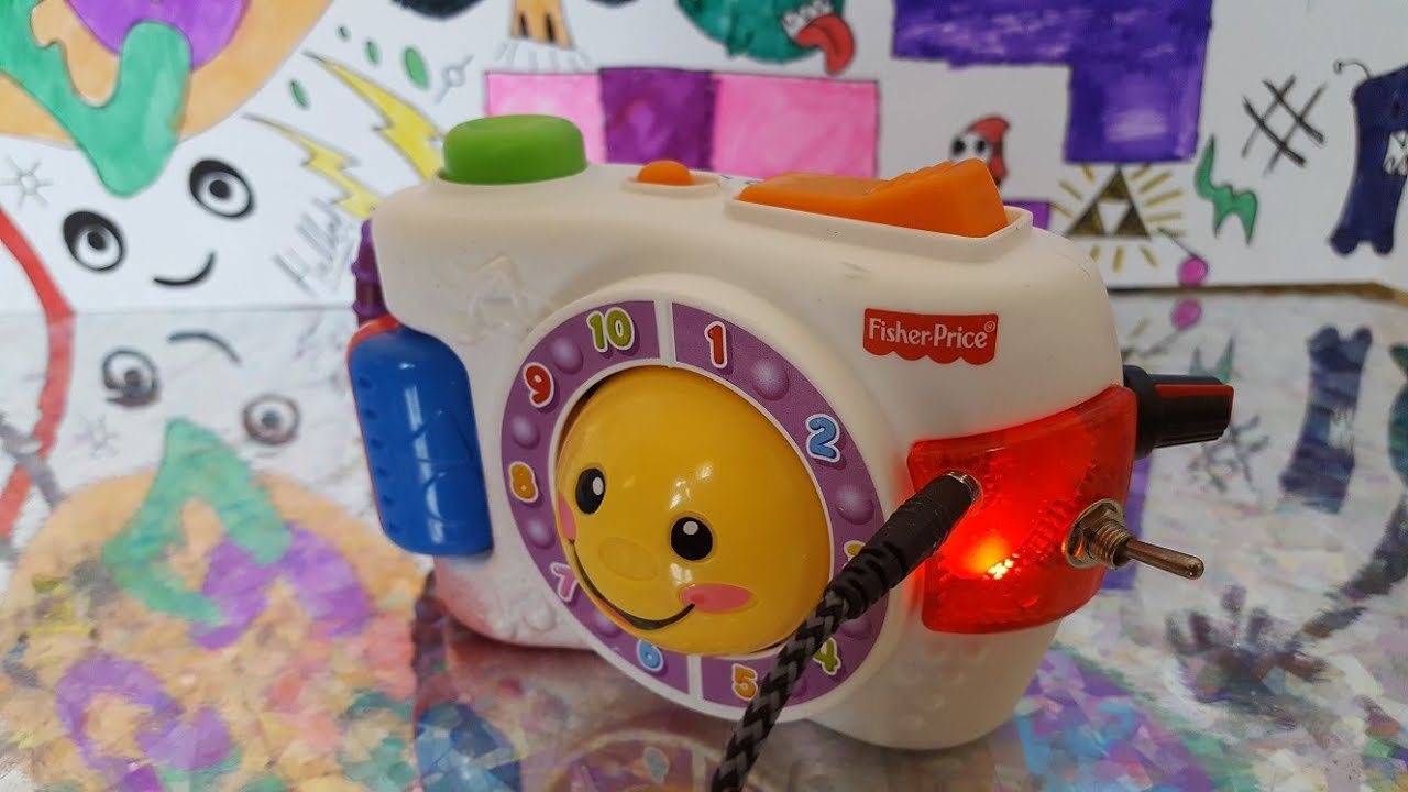 Circuit Bent Laugh And Learn Learning Camera Youtube Wrongbot Elmo39s World