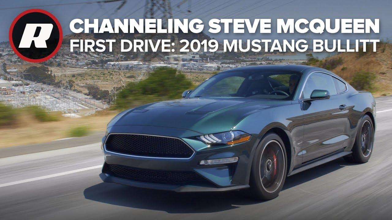 Chasing the 2019 Ford Mustang Bullitt -- Steve McQueen style