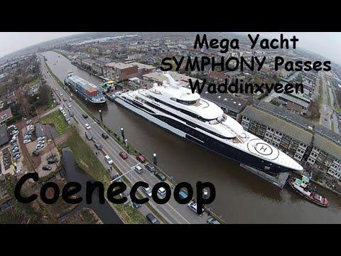 Mega Yacht Symphony Door Coenecoop Waddinxveen 14-03-2015