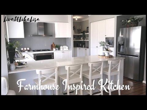ROOM TOUR | Farmhouse Inspired Kitchen Update