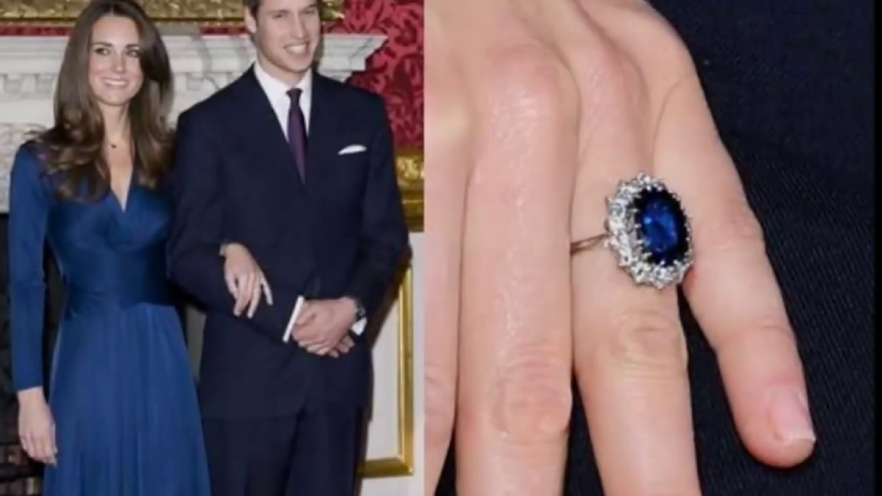 Princess Diana & Kate Middleton Ring 😇 - YouTube