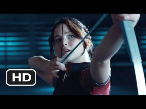 "The Hunger Games - ET Clip ""Shoot the Pig"" HD - Hunger Games (2012)"