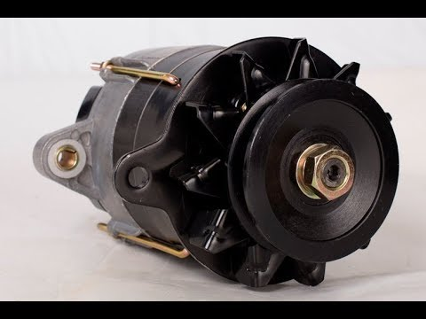Тракторный генератор.Какое напряжение на клеммах.Про ротор.