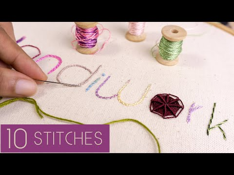 10 Hand Embroidery