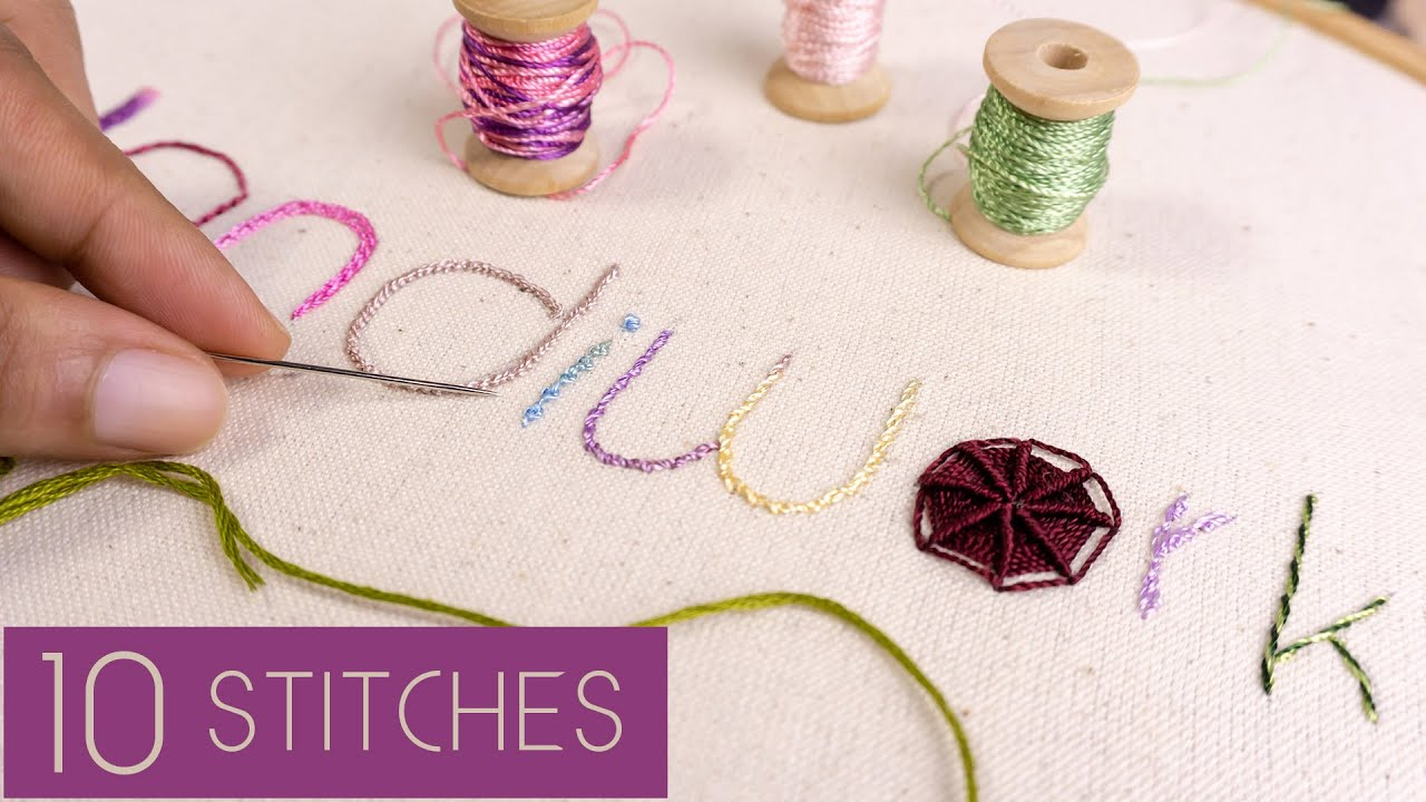 10 Hand Embroidery Letters For Beginners Stitching Tutorials By Handiworks Youtube,Dress Italia Ricci Designated Survivor