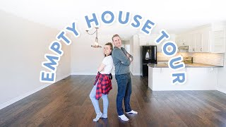 EMPTY HOUSE TOUR 2019! OUR FIRST HOUSE