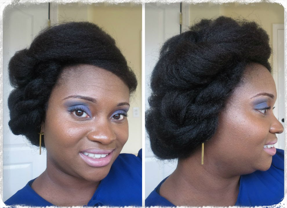 Protective Updos For Natural Hair