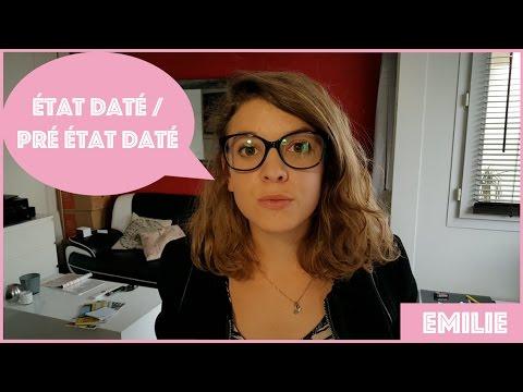 EMILIE #4 - État daté / Pré état daté