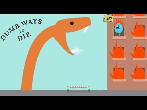 Dumb Ways to Die Original: All New Bean's Mini-Games - HAIR RESCUE