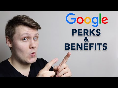 The Google Perks And Benefits You Don't Know About