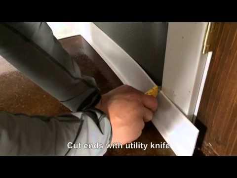 Installing Rubber Base Moulding You