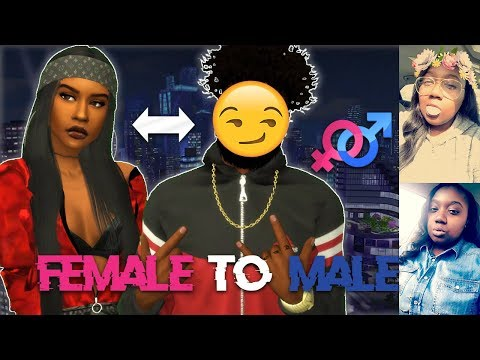 THE SIMS 4 | IF I WERE A BOY CHALLENGE?! | FEMALE TO MALE