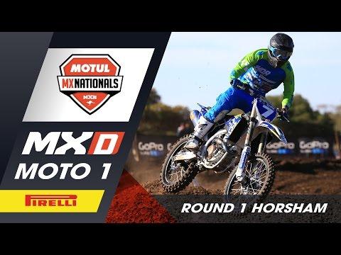 Pirelli MXD - Moto 1 - Round 1 Horsham 2016 Motul MX Nationals