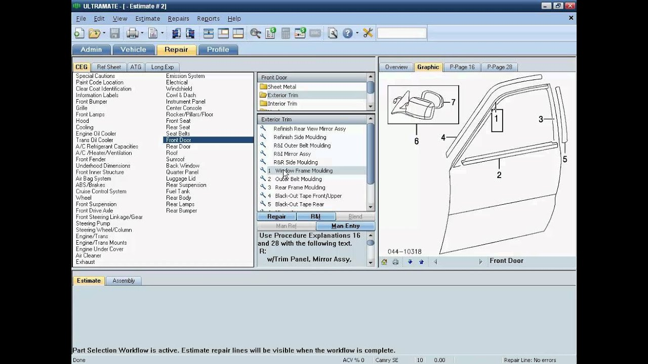 Free car repair estimate software 12