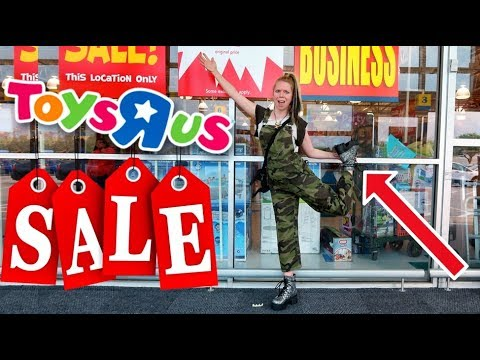 BYE BYE Toys R\' Us! Clearance Shopping-  Follow Me Around