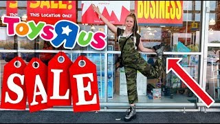 Bye Bye Toys R' Us! Clearance Shopping  Follow Me Around