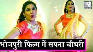 सपना चौधरी की पहली भोजपुरी फिल्म Sapna Chaudhary Dance Lehren Bhojpuri