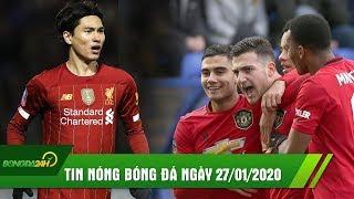 TIN NÓNG BÓNG ĐÁ 27/1: Liverpool đứt chuỗi trận thắng, MU tái lập kỳ tích sau 128 năm