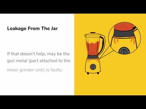 How To Fix Common Mixer Grinder Problems