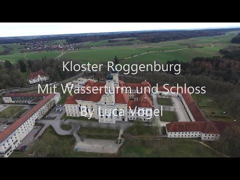Rundflug über Kloster Roggenburg
