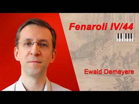 WOW! Ewald Demeyere's stunning classical improvisation on a Fenaroli Partimento
