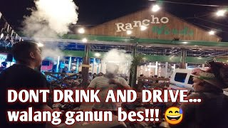 Tambike Night muna tayo/ dont drink and drive... if you drink, drive slow and safe