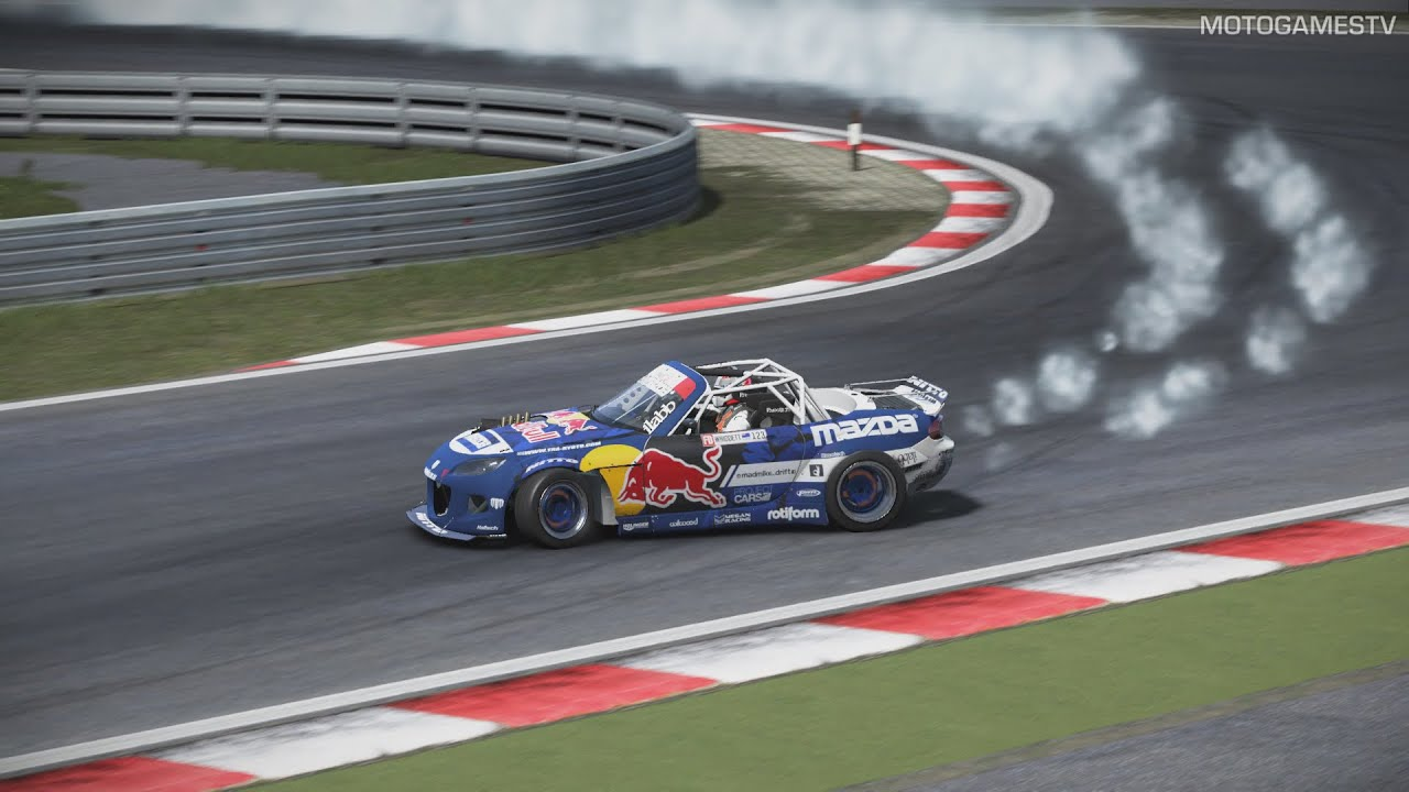 Project Cars Pc Mazda Mx Radbul Formula Drift Gameplay Youtube