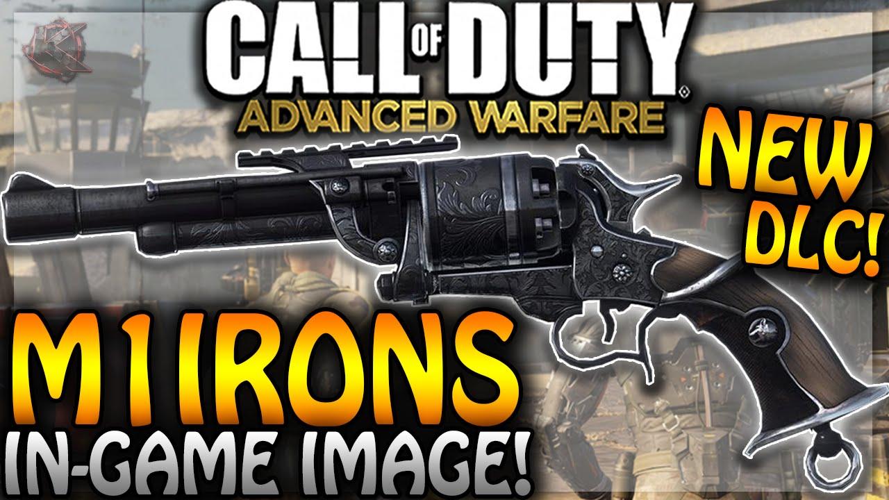 "Advanced Warfare - ""M1 IRONS"" NEW DLC GUN IMAGE - RARE ..."
