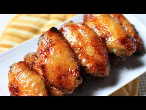 Baked Honey Chicken Wings Recipe / 蜜烤鸡翅