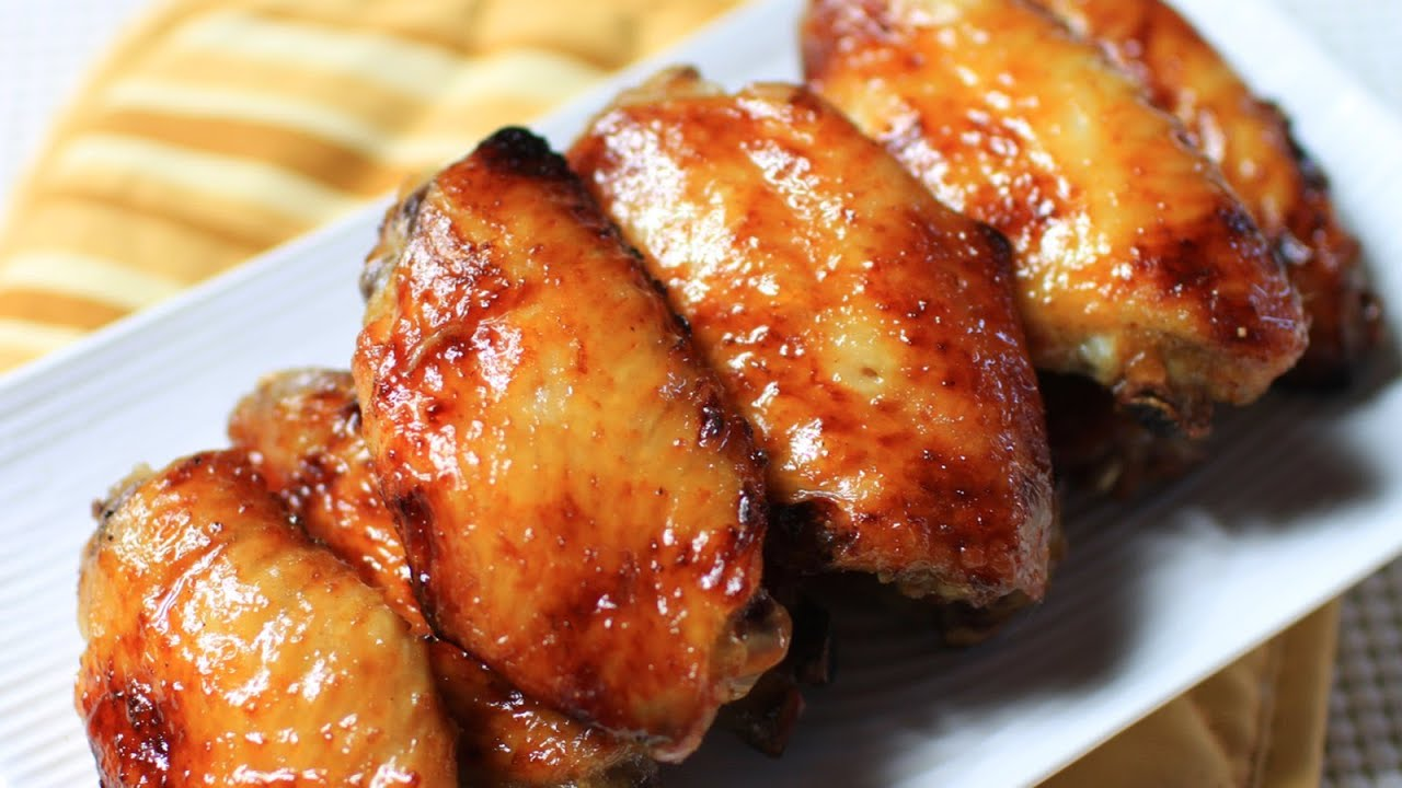Baked honey chicken wings recipe youtube forumfinder Image collections