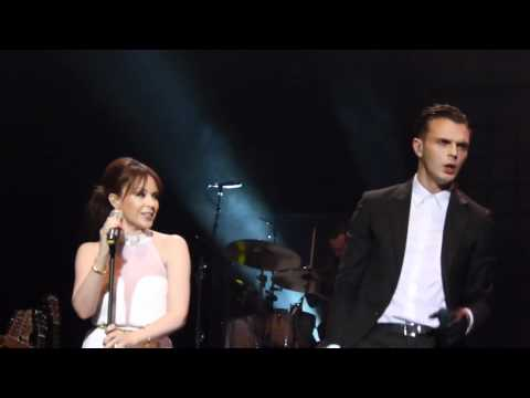 Confide In Me - Hurts & Kylie Minogue (O2 Brixton Academy, London, 4/11/11)