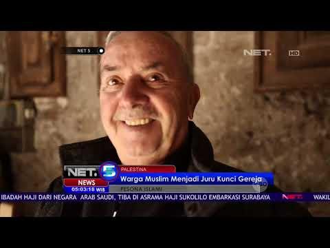 Pesona Islami :  Kisah Nuseibeh, Warga Muslim Juru Kunci Gereja Makam Kudus, Yerusalem   NET 5