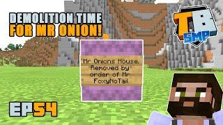 DESTROYING Mr Onion's house! | Truly Bedrock Season 2 [54] Minecraft Bedrock SMP