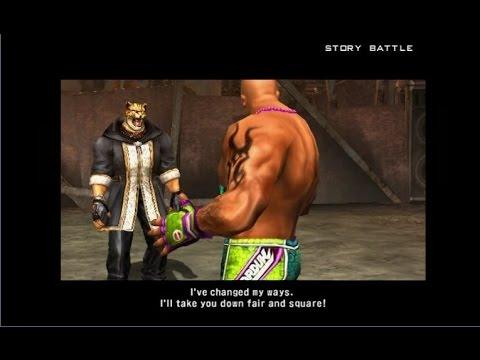 Tekken 5 - King vs  Craig Marduk: Story Battle | PS2 Gameplay