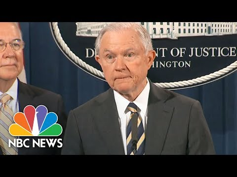 Jeff Sessions: 400 People Charged In 'Largest Health Care Fraud Takedown' | NBC News