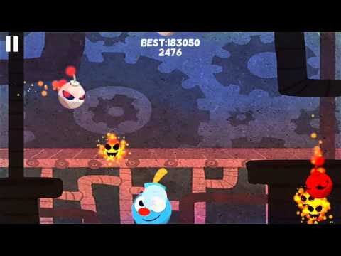 Bomb Dodge Game - Updated Artwork and Font for iPhone